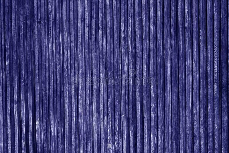 Superficie de madera decorativa en color azul imagenes de archivo