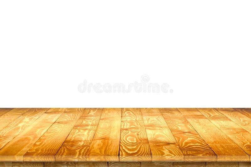 Superficie de madera del worktop con el viejo modelo natural fotos de archivo