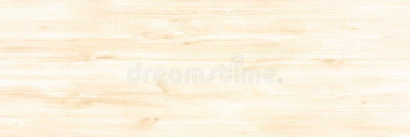 Superficie de madera ligera del fondo de la textura con el viejo modelo natural o la vieja opinión de sobremesa de madera de la t imagen de archivo