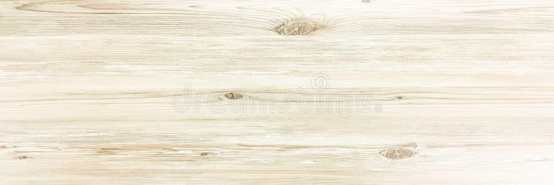 Superficie de madera ligera del fondo de la textura con el viejo modelo natural o la vieja opinión de sobremesa de madera de la t imagen de archivo libre de regalías