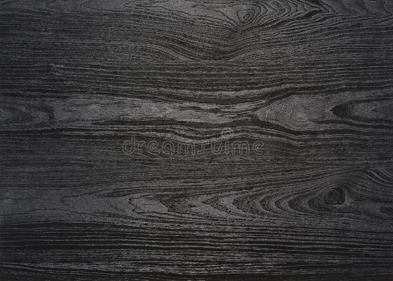 Superficie de madera negra del grano fotografía de archivo libre de regalías