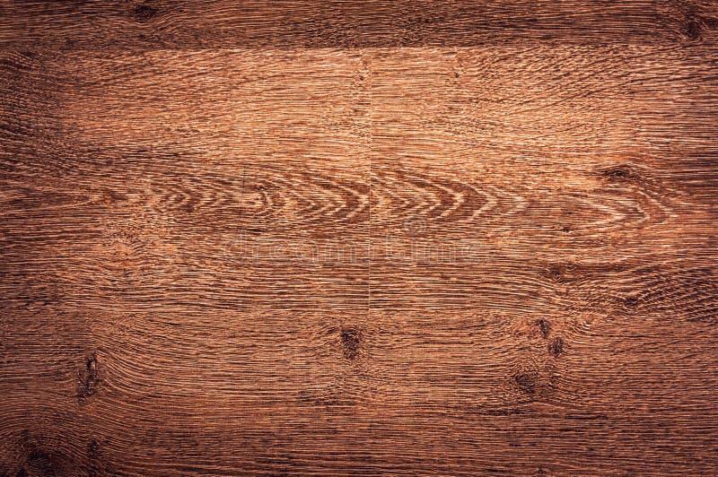 Superficie de madera oscura del fondo de la textura con el viejo modelo natural foto de archivo libre de regalías