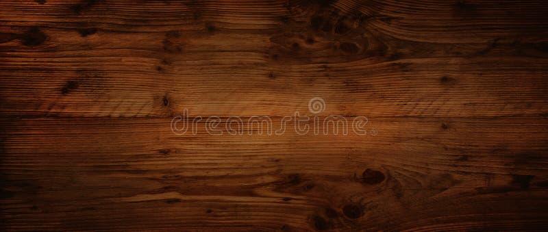 Superficie de madera rústica oscura fotografía de archivo libre de regalías