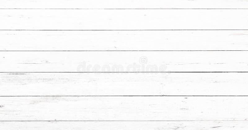 Superficie de madera suave de la textura del lavado blanco ligero como fondo El Grunge blanqueó la opinión superior de los tablon