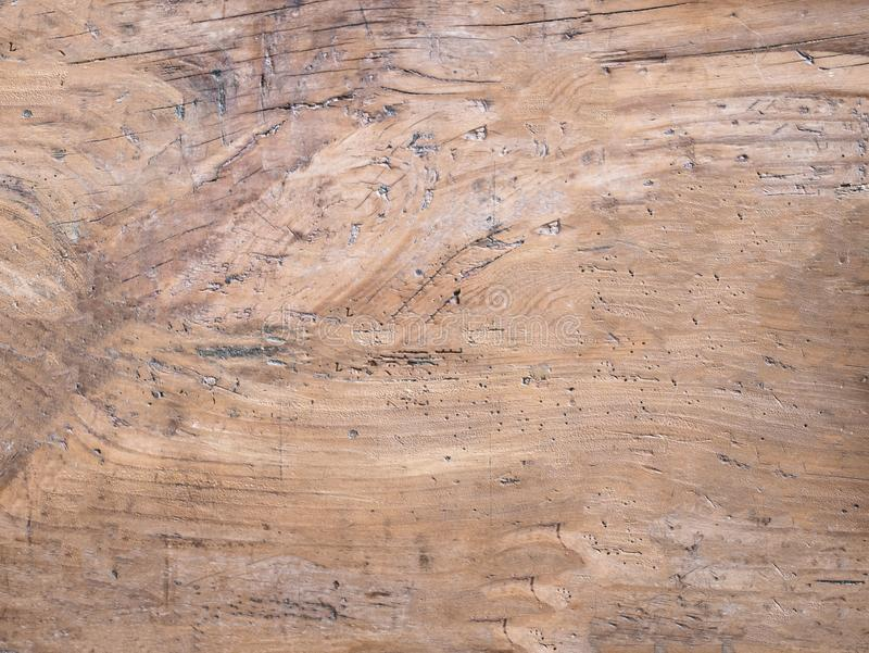 Superficie de madera suave marrón clara como fondo, etiqueta texturizada de madera foto de archivo libre de regalías