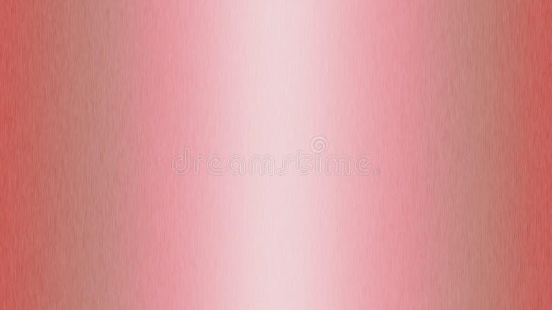 Superficie de metal cepillada rosa del extracto para el fondo imágenes de archivo libres de regalías