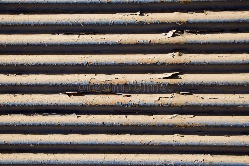 Superficie de metal como modelo de la textura del fondo fotos de archivo libres de regalías