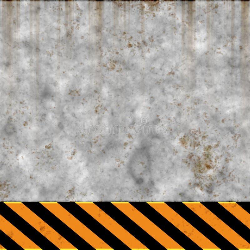 Superficie de metal oxidada libre illustration