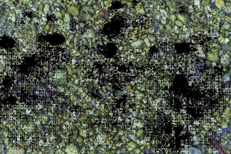 Superficie del ciottolo di tecnica di lerciume, struttura di pietra o contesto della roccia, fondo al suolo fotografie stock libere da diritti