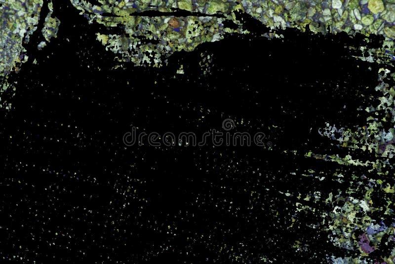 Superficie del ciottolo di tecnica di lerciume, struttura di pietra o contesto della roccia, fondo al suolo fotografie stock
