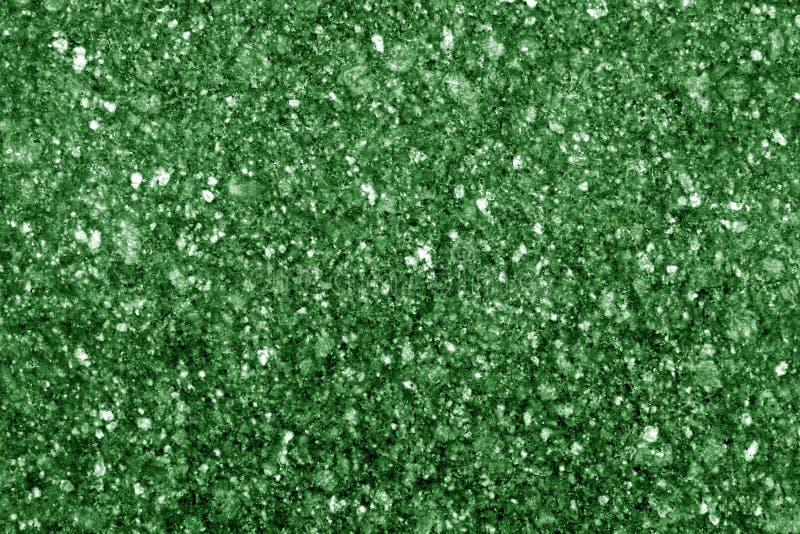 Superficie del granito como fondo en tono verde imagen de archivo