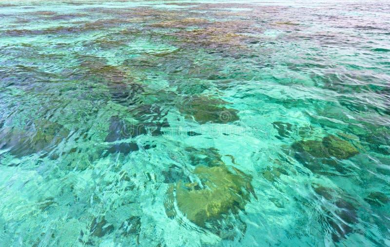 Superficie del mar del Aquamarine imagen de archivo