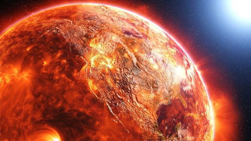 Superficie del sol libre illustration