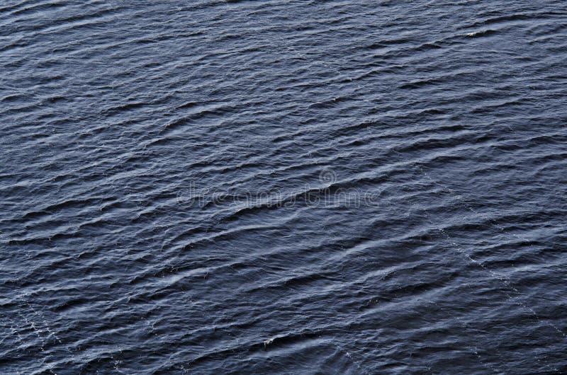 Superficie dell'acqua blu come fondo fotografie stock