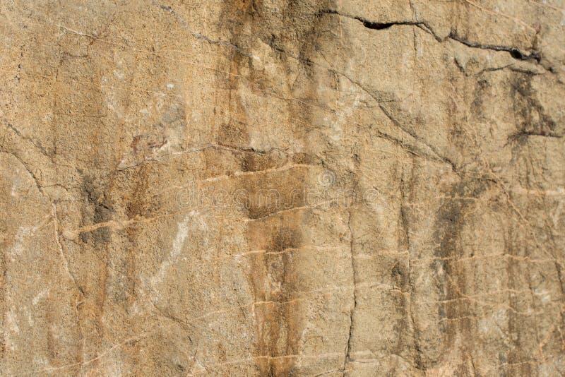 Superficie della pietra o della roccia come struttura del fondo fotografia stock