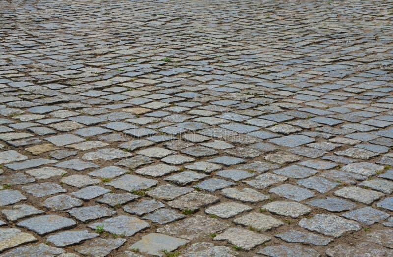 Superficie della pietra per lastricati fotografie stock libere da diritti