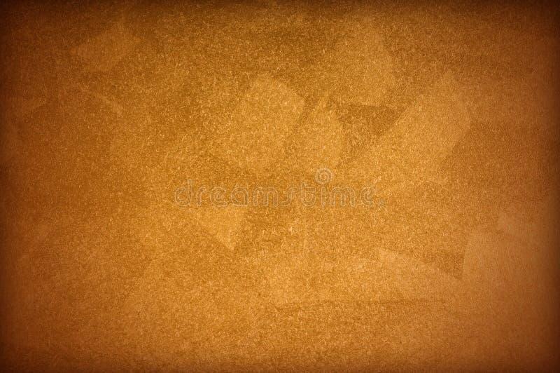 Superficie della vernice dell'oro immagini stock libere da diritti