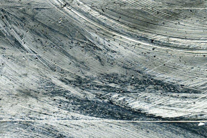 Superficie di alluminio. fotografie stock