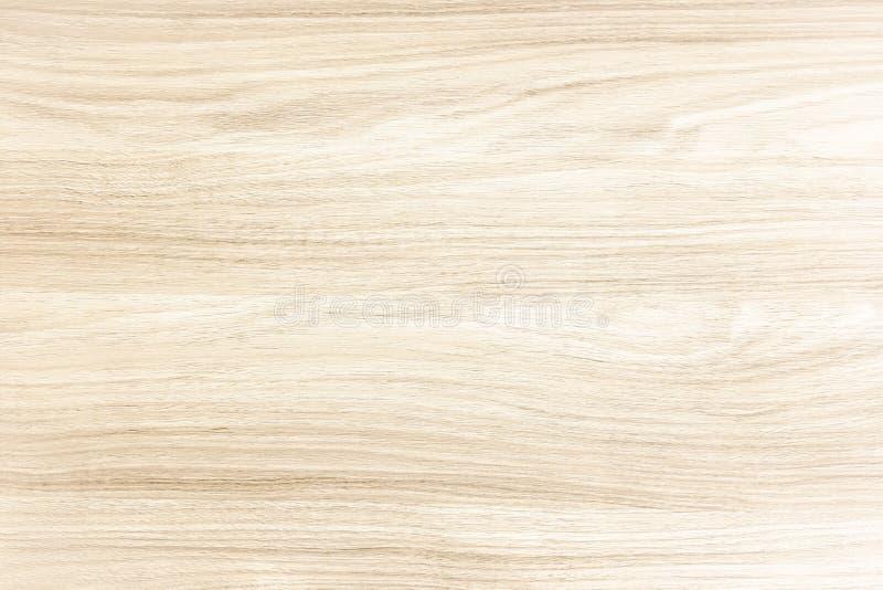 Superficie di legno leggera del fondo di struttura con il vecchio modello naturale o la vecchia vista di legno del piano d'appogg fotografia stock libera da diritti