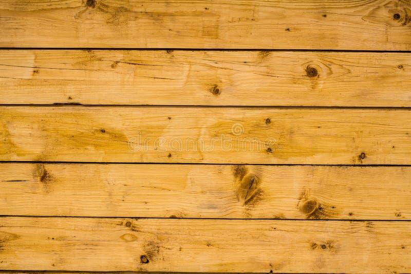 Superficie di legno marrone chiaro delle plance, della parete, della tavola, del soffitto o del pavimento fotografia stock
