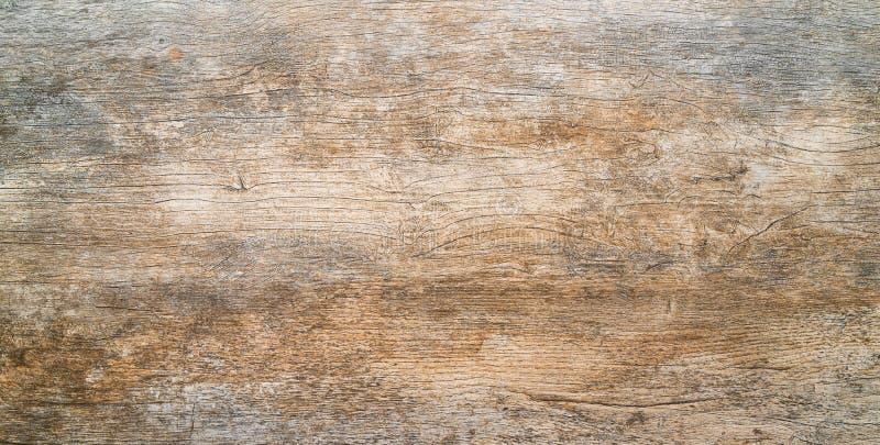 Superficie di legno scura del fondo di struttura con il vecchio modello naturale immagini stock