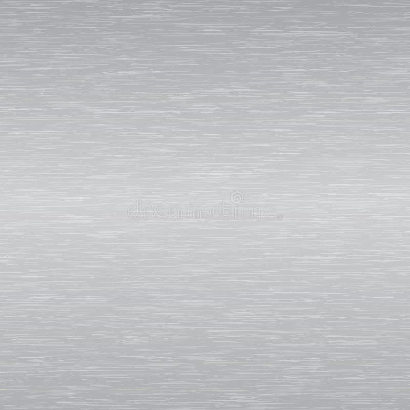 Superficie di metallo illustrazione vettoriale