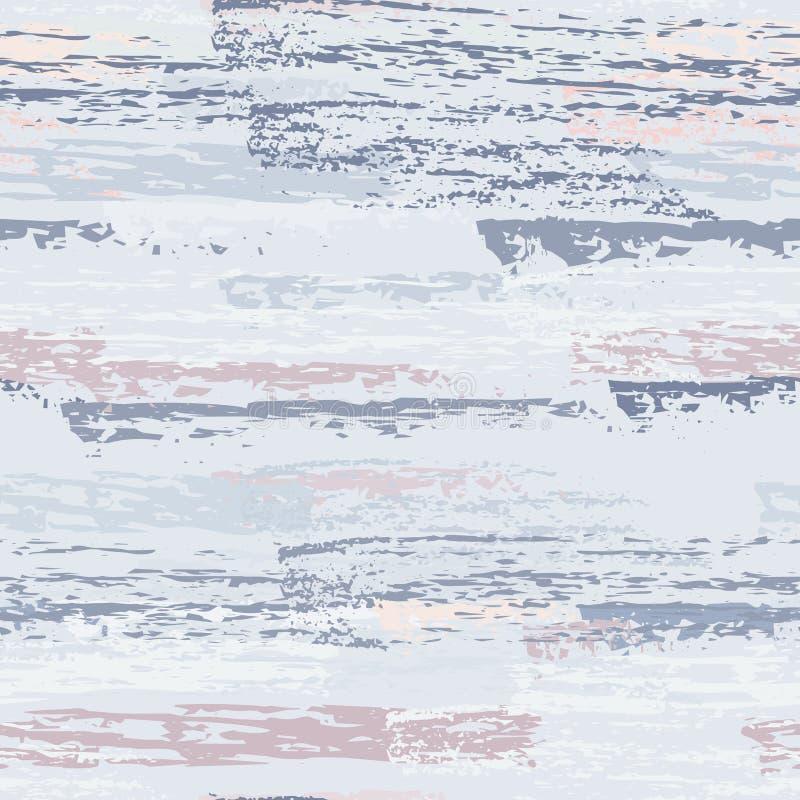 Superficie disegnata a mano di lerciume Carbone a strisce del gesso illustrazione di stock