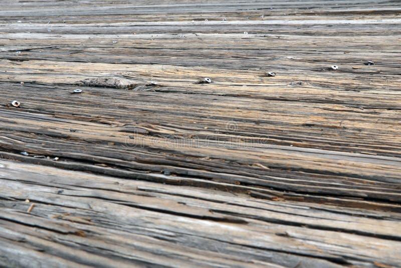 Superficie erosionada por el tiempo, viejo fondo de madera fotografía de archivo libre de regalías