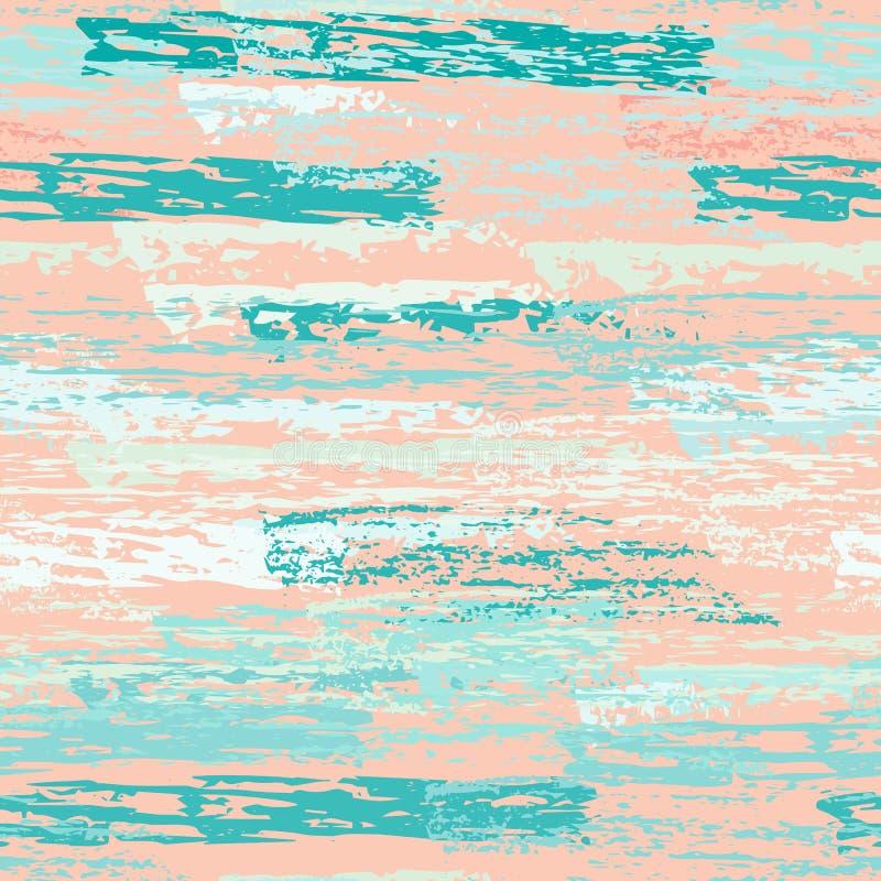 Superficie gastada del carbón de la tiza de la textura pinstripe ilustración del vector