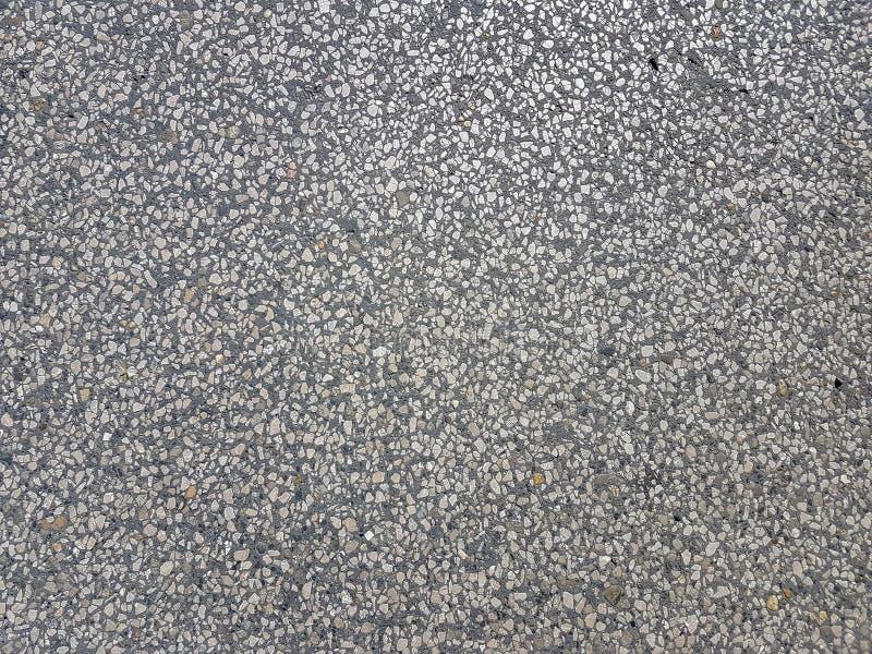 Superficie material del primer del asfalto del camino gris de la textura imagen de archivo