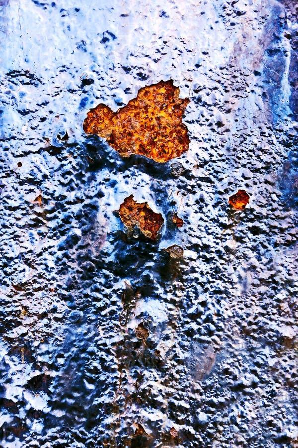 Superficie oxidada foto de archivo