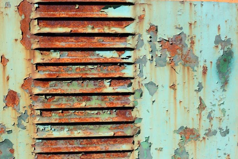 Superficie oxidada de la pintura del viejo grunge para el fondo texturizado fotos de archivo libres de regalías