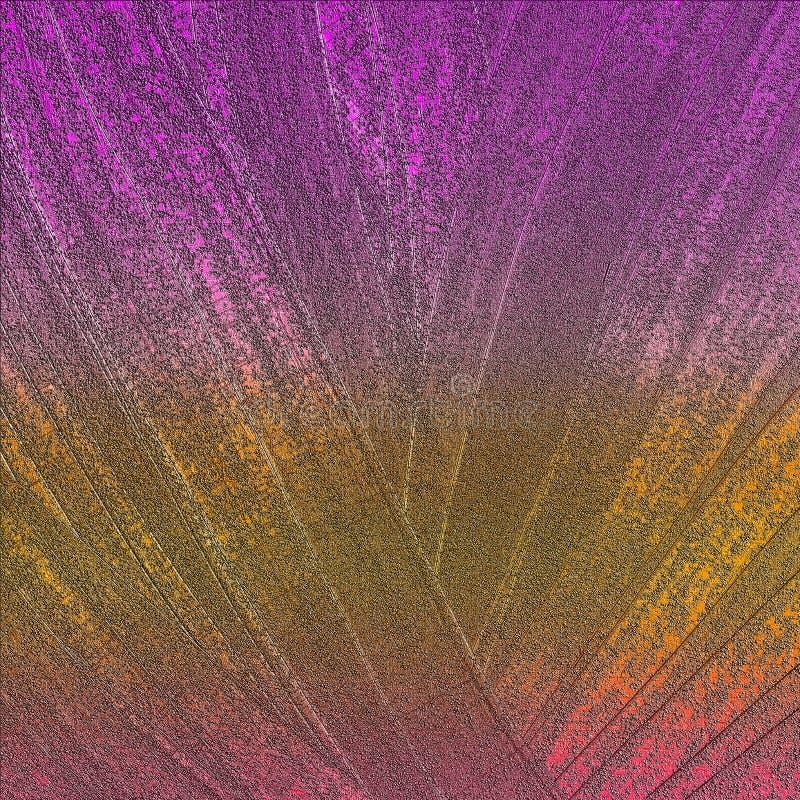 Superficie rayada brillante de las ilustraciones Superficie pintada abstracta exhausta de la mano Cepille las ilustraciones de lo imagen de archivo