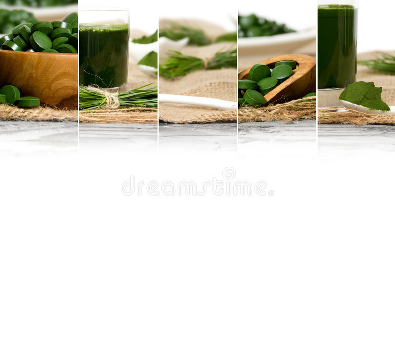 Superfood混合切片 库存照片