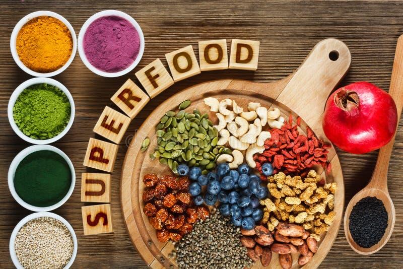 Superfood стоковые фотографии rf