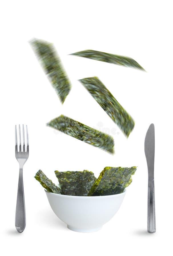 Superfood dell'alga immagine stock