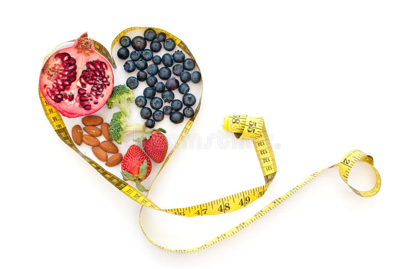 Superfood detox dieta fotografia stock