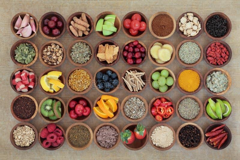 Superfood dla Zimnego remedium zdjęcie stock