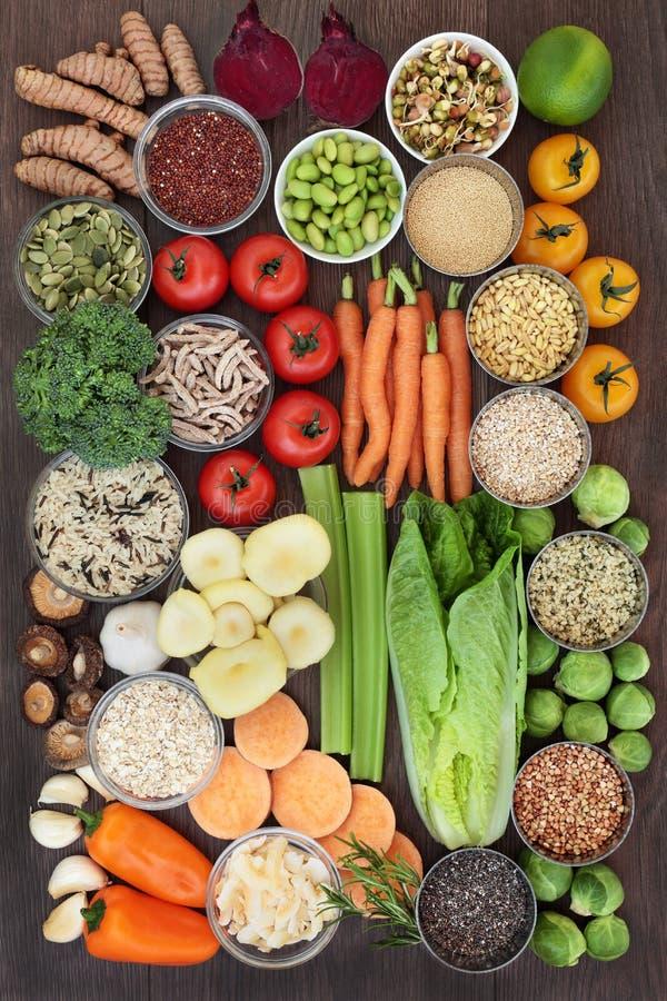 Superfood per il cibo sano immagini stock libere da diritti