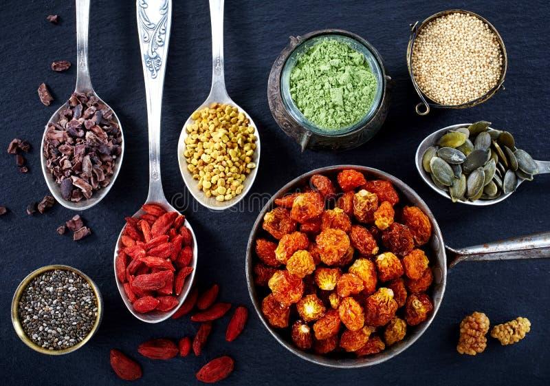 Superfoods royaltyfria bilder
