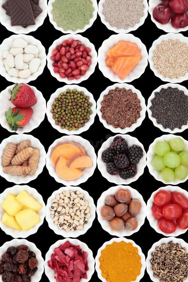 Superfoods photographie stock libre de droits