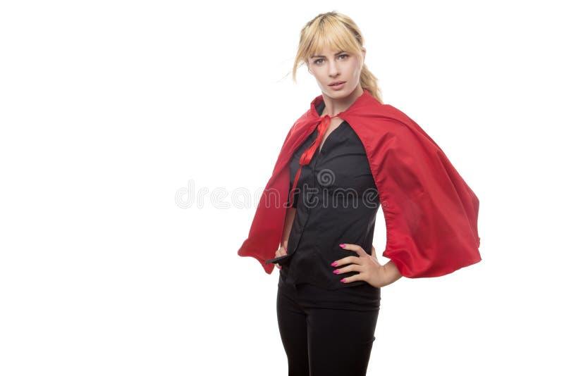 Superhéros d'affaires photographie stock libre de droits