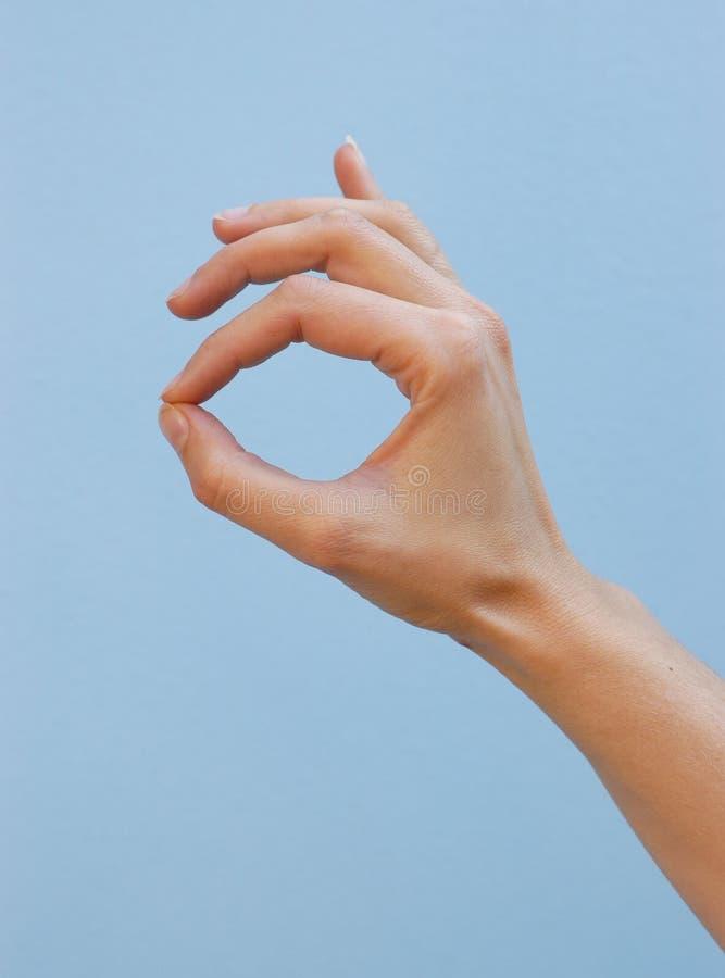 Download Superhand fotografering för bildbyråer. Bild av gest, nyheterna - 282315