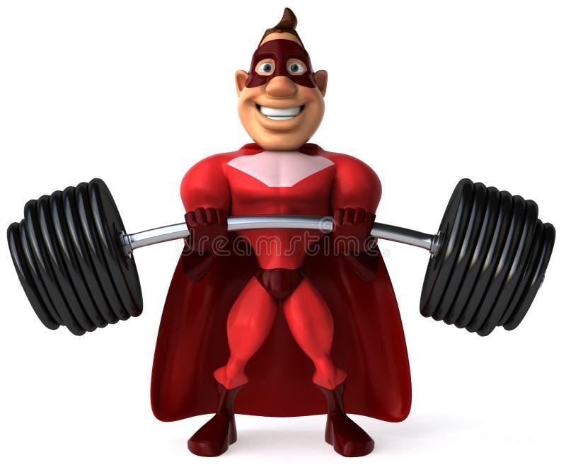 Superheld vektor abbildung