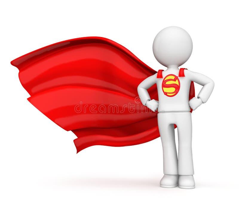 Superheld stock abbildung