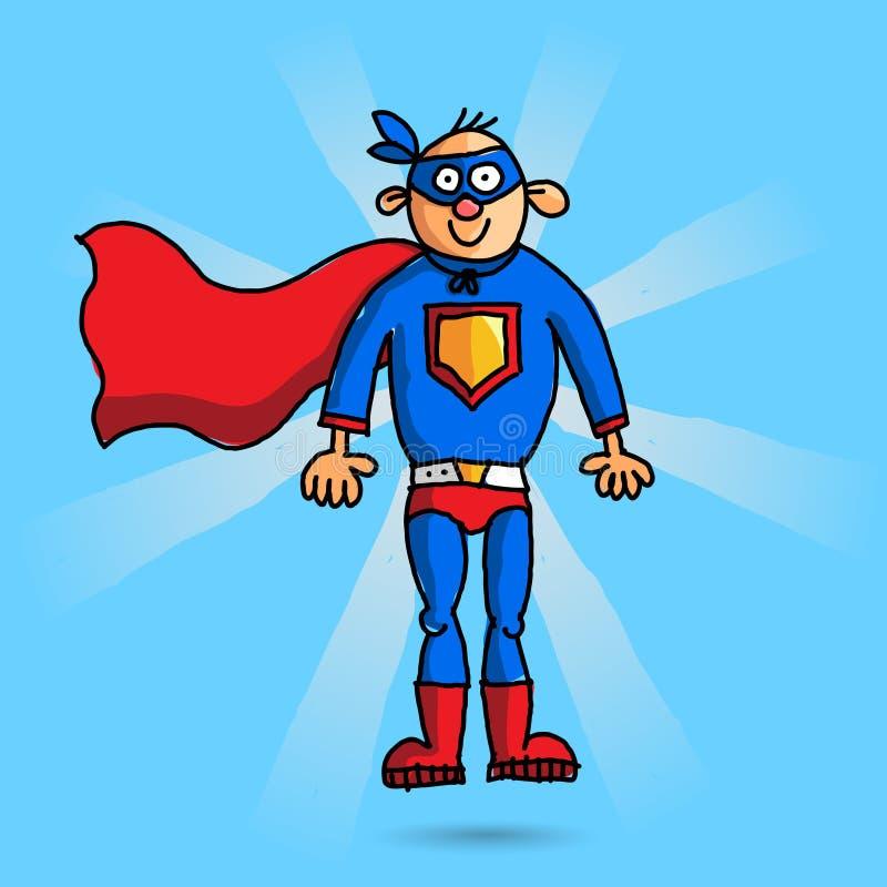 Superheld stockbilder