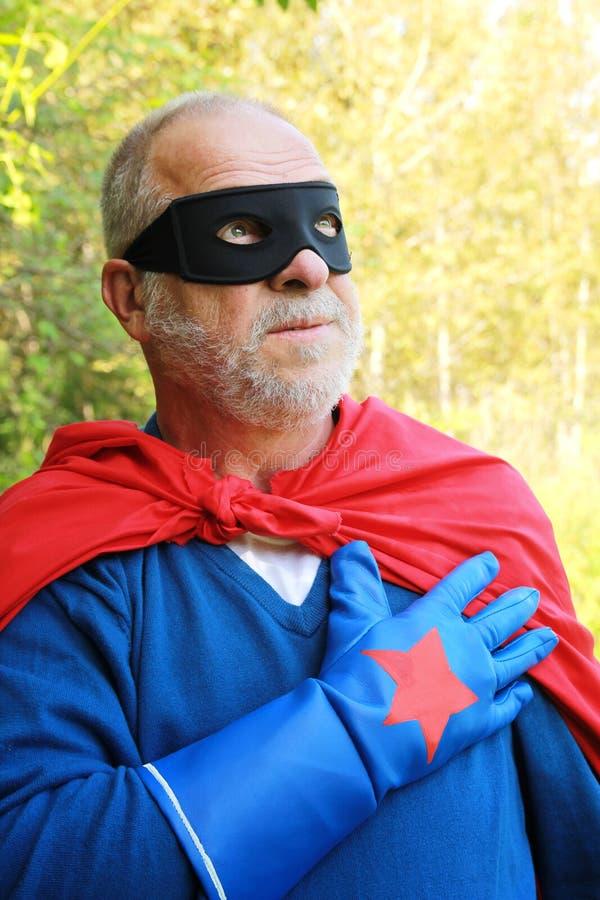 Superheld stockfotos