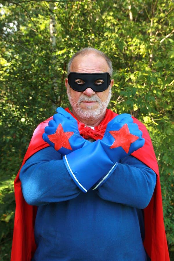 Superheld stockfoto