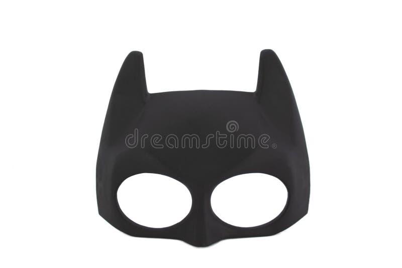 Superheld-Batmanmaske lizenzfreies stockbild