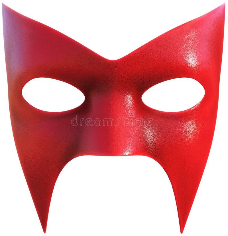 Superheld-Gesichtsmaske lokalisiert lizenzfreies stockbild